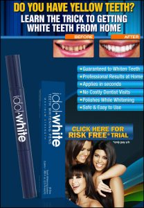 Idol White Teeth Whitening Kit